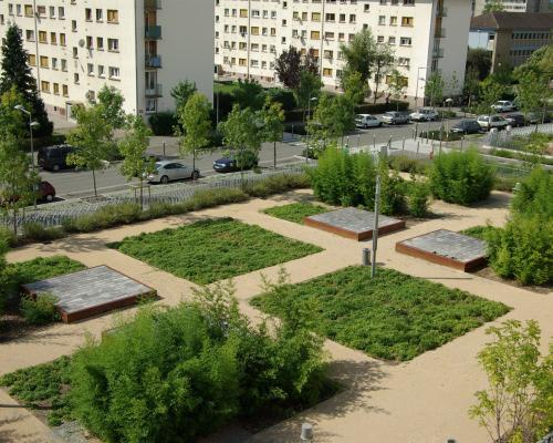 Jardin des bambous