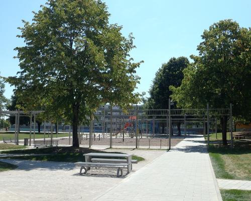 Le parc central