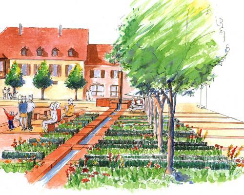 Les jardins médiévaux